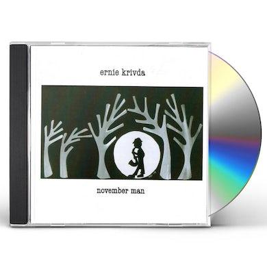 Ernie Krivda NOVEMBER MAN CD