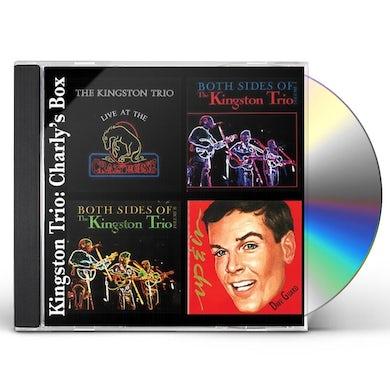 Kingston Trio CHARLY'S BOX CD