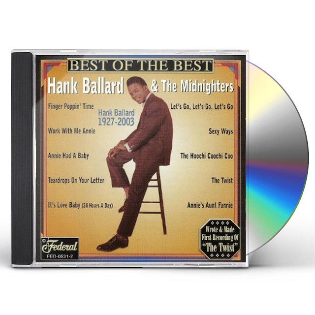 Hank Ballard BEST OF THE BEST CD