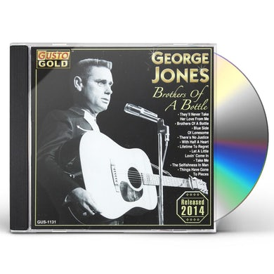 George Jones BROTHERS OF A BOTTLE CD