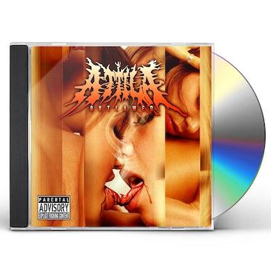 Attila OUTLAWED CD