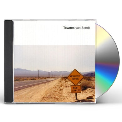 Townes Van Zandt ABSOLUTELY NOTHING CD