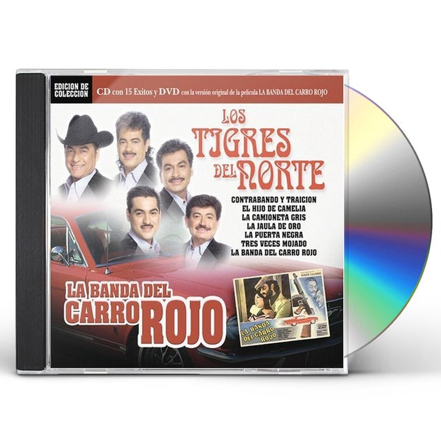 TIGRES DEL NORTE BANDA DEL CARRO ROJO CD