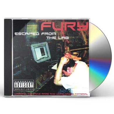 Fury ESCAPED FROM THE LAB CD