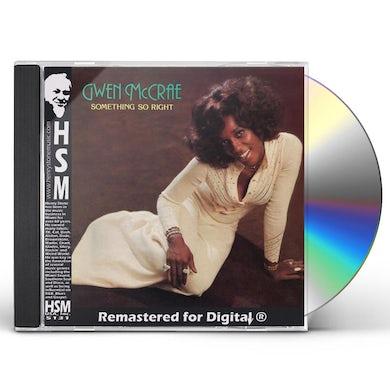 Gwen Mccrae SOMETHING SO RIGHT CD