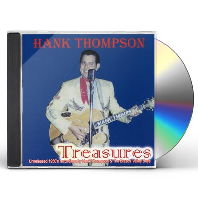 Hank Thompson TREASURES-UNRELEASED SONGS OF 1950'S CD
