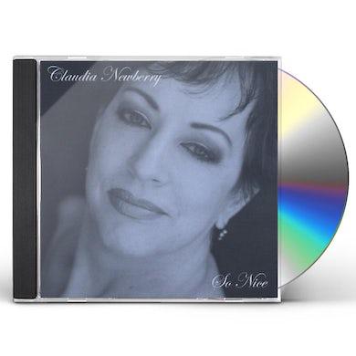 Claudia Newberry SO NICE CD