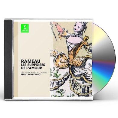 Rameau ERATO STORY - LES SURPRISES DE L AMOUR CD