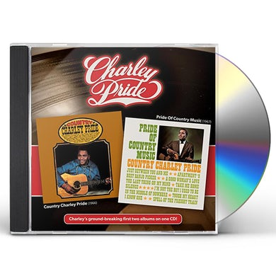 COUNTRY CHARLEY PRIDE / PRIDE OF COUNTRY MUSIC CD