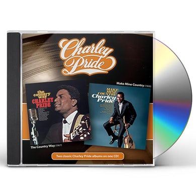 Charley Pride COUNTRY WAY + MAKE MINE COUNTRY CD