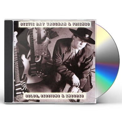 Stevie Ray Vaughan SOLOS SESSIONS & ENCORES CD