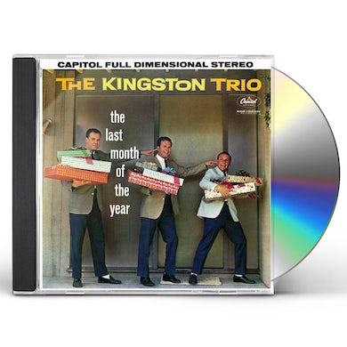 Kingston Trio LAST MONTH OF THE YEAR CD