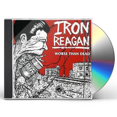 Iron Reagan WORSE THAN DEAD CD