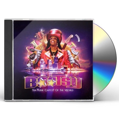 Bootsy Collins THA FUNK CAPITAL OF THE WORLD CD