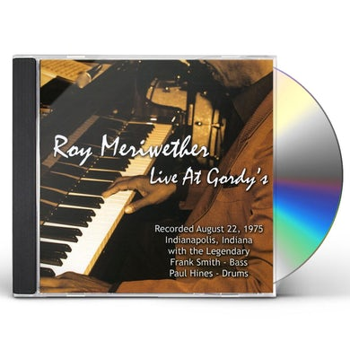 Roy Meriwether LIVE AT GORDY'S CD