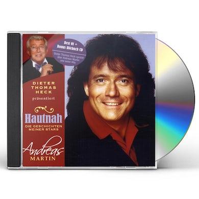 Andreas Martin HAUTNAH DIE GESCHICHTEN MEINER STARS CD
