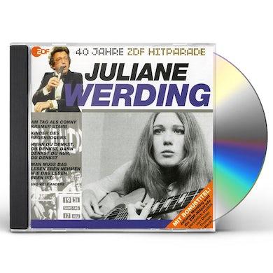 Juliane Werding DAS BESTE AUS 40 JAHREN HITPARADE CD
