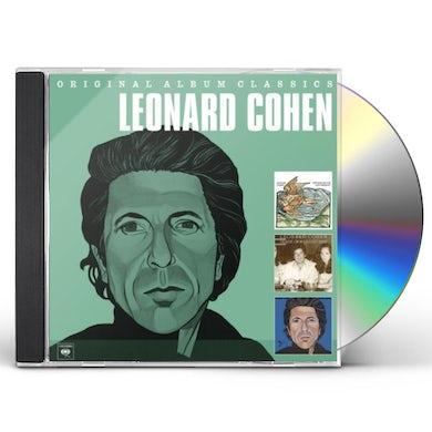 Leonard Cohen ORIGINAL ALBUM CLASSICS CD