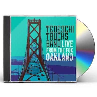 Tedeschi Trucks Band LIVE FROM THE FOX OAKLAND CD