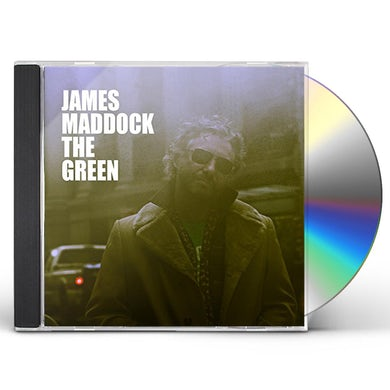 James Maddock GREEN CD
