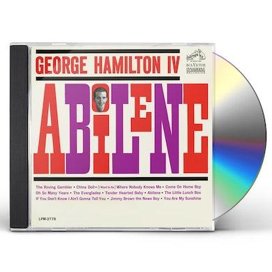 George Hamilton IV ABILENE CD