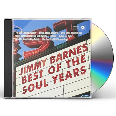 Jimmy Barnes BEST OF THE SOUL YEARS CD