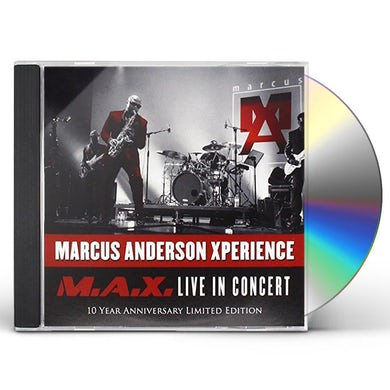 Marcus Anderson MAX LIVE CD