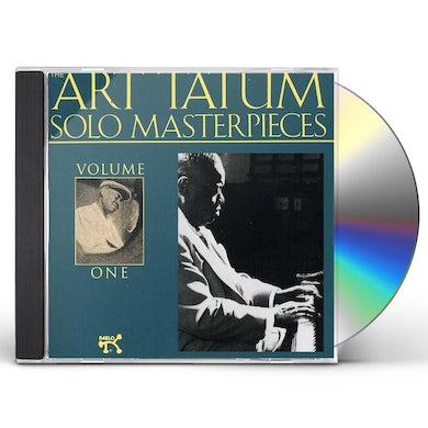Art Tatum SOLO MASTERPIECES 1 CD