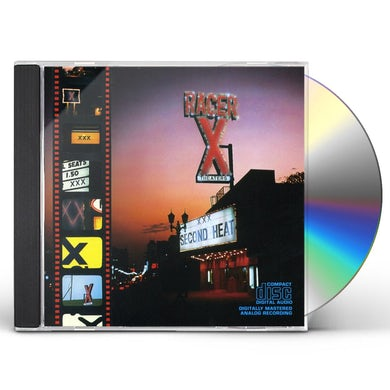 Racer X SECOND HEAT CD