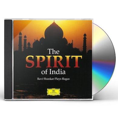 Ravi Shankar SPIRIT OF INDIA CD