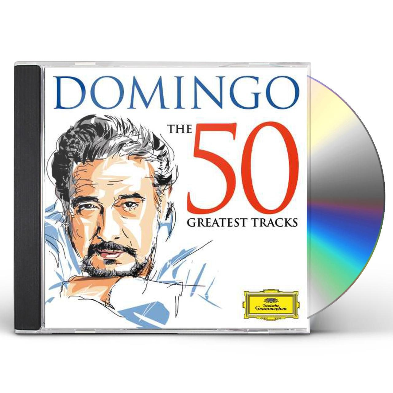 Placido Domingo Domingo The 50 Greatest Tracks Cd