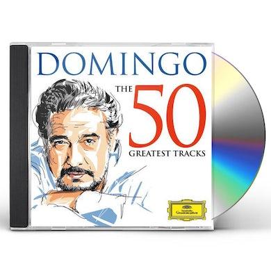 Placido Domingo DOMINGO: THE 50 GREATEST TRACKS CD