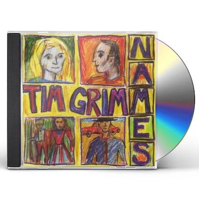 Tim Grimm NAMES CD