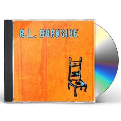 R.L. Burnside WISH I WAS IN HEAVEN SITTING DOWN CD