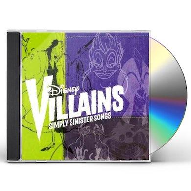 Disney Villains: Simply Sinister Songs CD