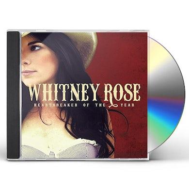 Whitney Rose HEARTBREAKER OF THE YEAR CD