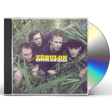 Zebulon RETOUR SUR MARS CD