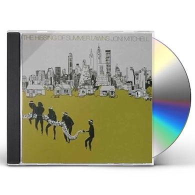 Joni Mitchell HISSING OF SUMMER LAWNS CD