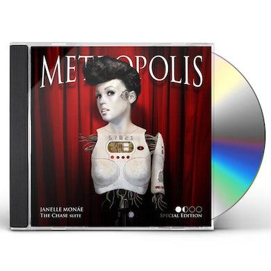 Janelle Monae METROPOLIS: THE CHASE SUITE CD