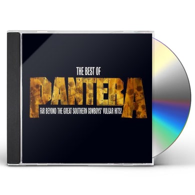 BEST OF PANTERA: FAR BEYOND THE GREAT SOUTHERN CD