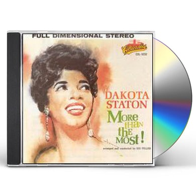 Dakota Staton MORE THAN THE MOST: GOLDEN CLASSICS CD