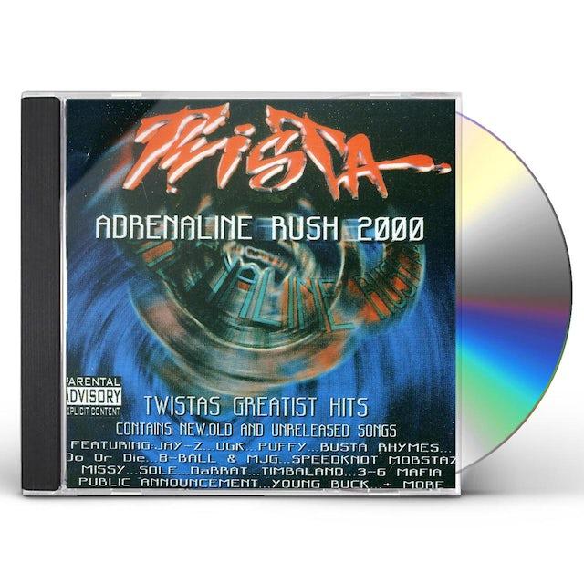 Twista ADRENALINE RUSH 2000 CD