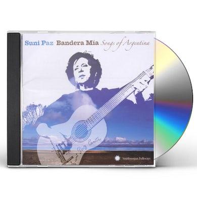 Suni Paz BANDERA MIA: SONGS OF ARGENTINA CD