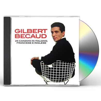 Gilbert Becaud 25 CANZONI IN ITALIANO FANCES CD