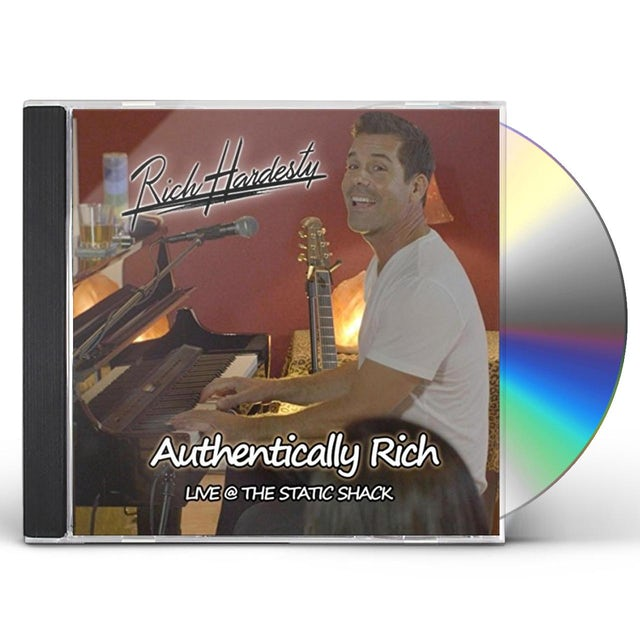 Rich Hardesty AUTHENTICALLY RICH (LIVE) CD