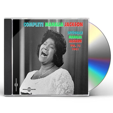 Mahalia Jackson INTEGRALE VOLUME 13-1961 CD