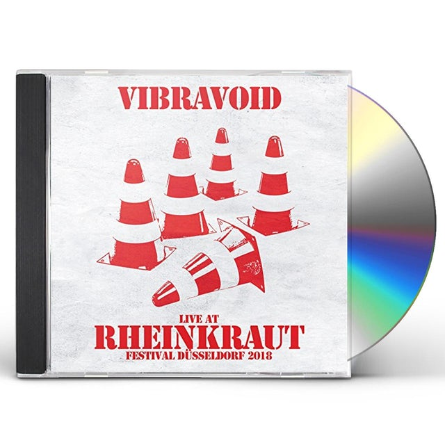Vibravoid LIVE AT RHEINKRAUT FESTIVAL DUSSELDORF 2018 CD