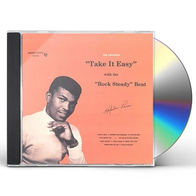 Hopeton Lewis TAKE IT EASY WITH THE ROCK STEADY BEAT CD
