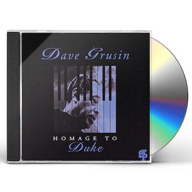 Dave Grusin HOMAGE TO DUKE CD