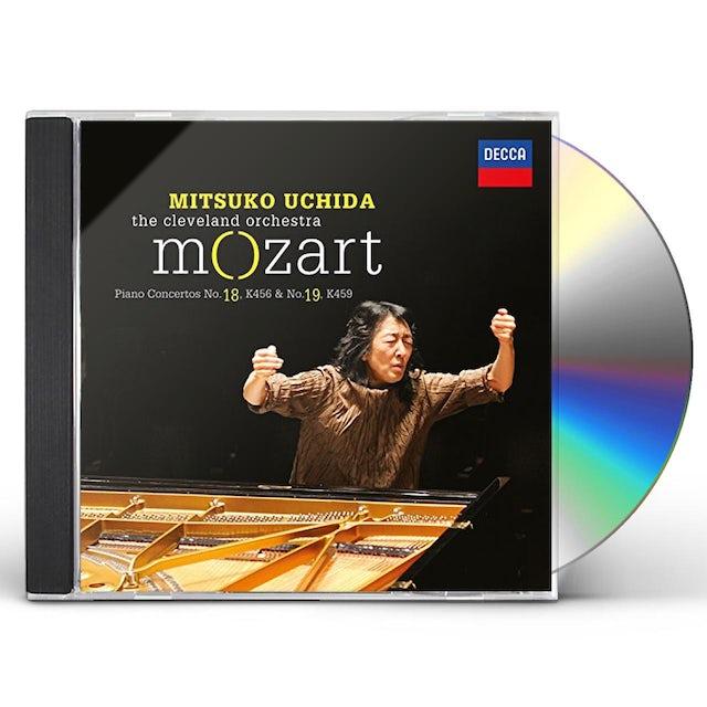 Mitsuko Uchida MOZART: PIANO CONCERTOS NOS.18 & 19 CD
